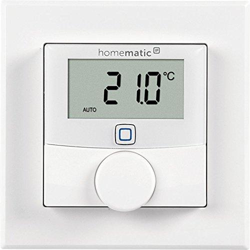 1 Stk Homematic IP Wandthermostat Aufputz IRS00007--