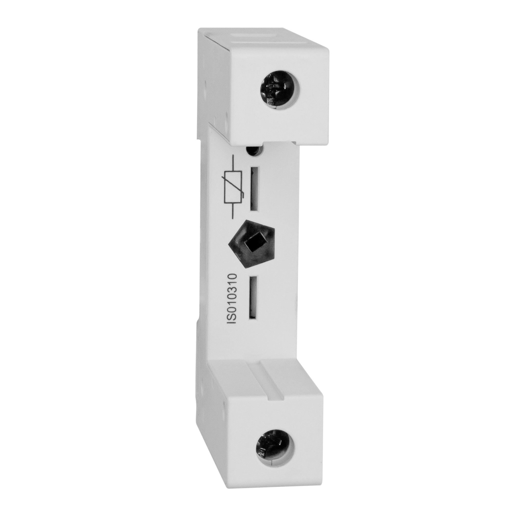 1 Stk Vartec T2, Sockel 1pol. für Varistor-Modul-Einsatz (VVM) IS010310--