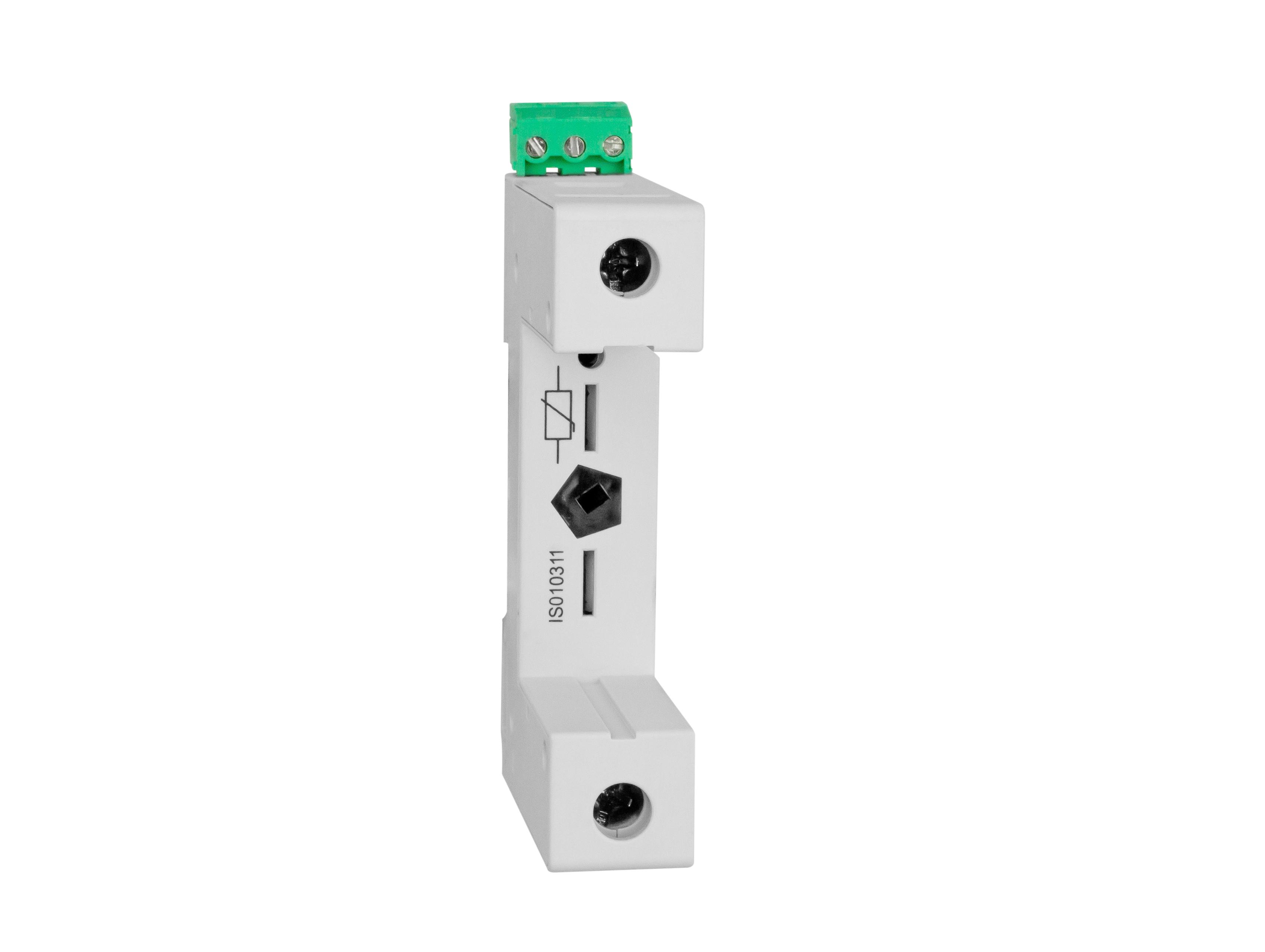 1 Stk Vartec T2,Sockel 1pol. für Varistor-Modul-Einsatz (VVM) + HK IS010311--