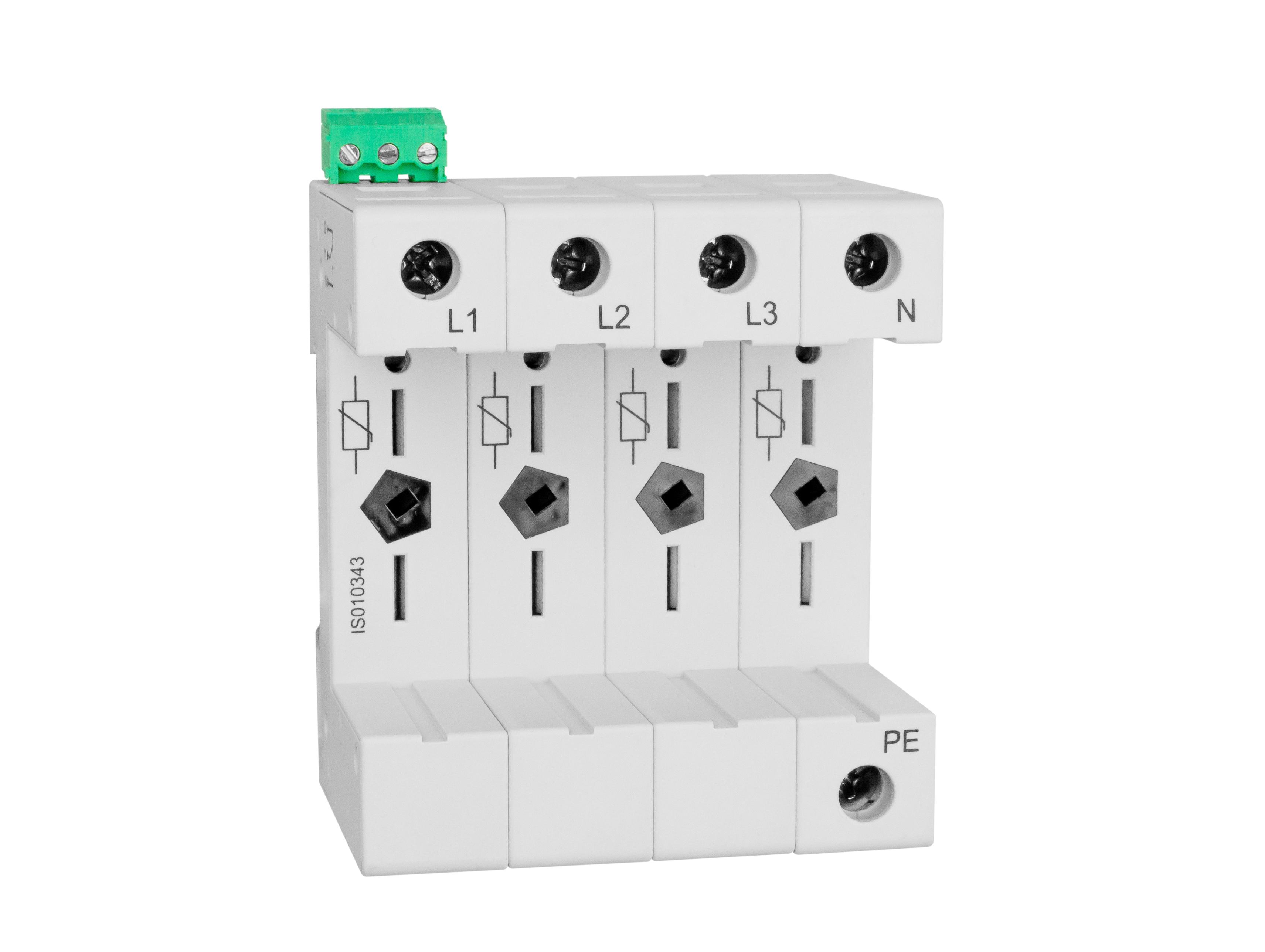 1 Stk Vartec TII, Sockel 4+0 (für 4 VVM), mit Hilfskontakt IS010343--
