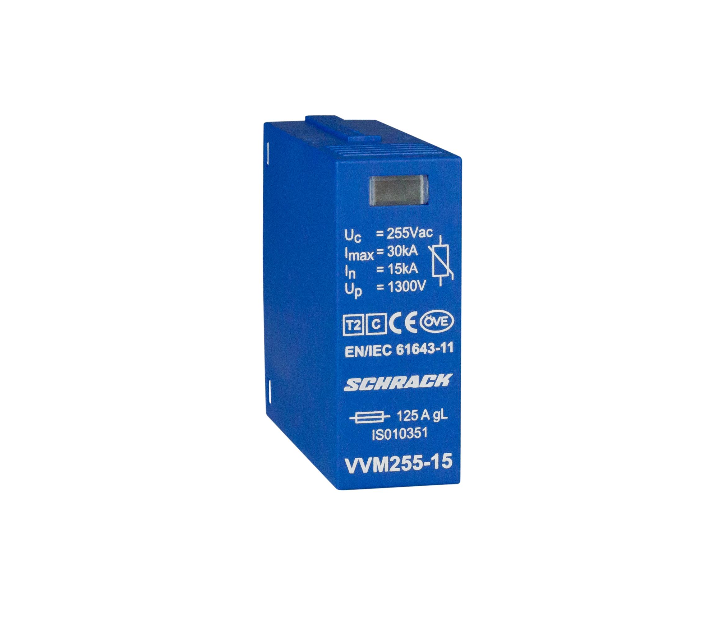 1 Stk Vartec Varistormodul TII, VVM - 255V/15kA IS010351--