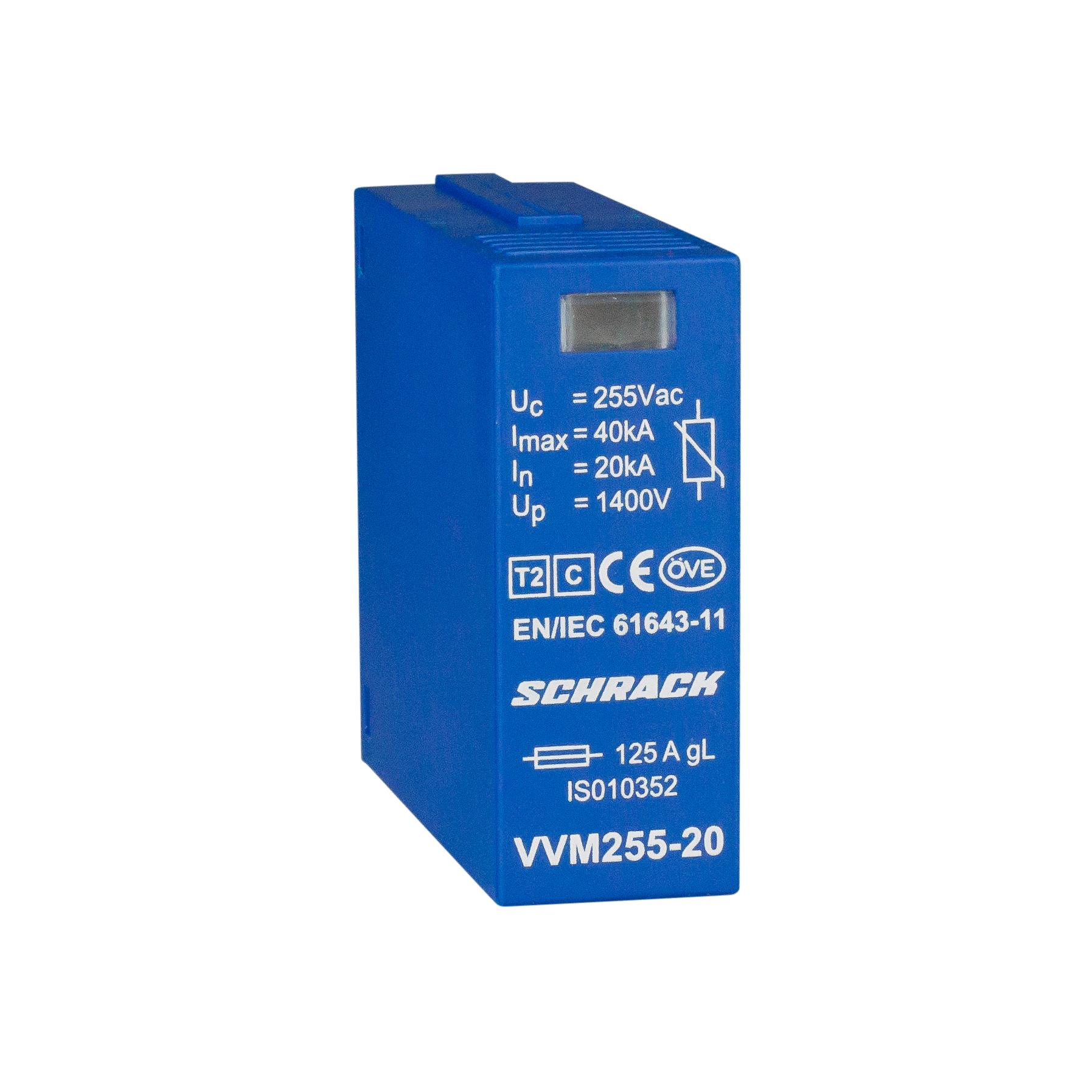 1 Stk Vartec Varistormodul TII, VVM - 255V/20kA IS010352--