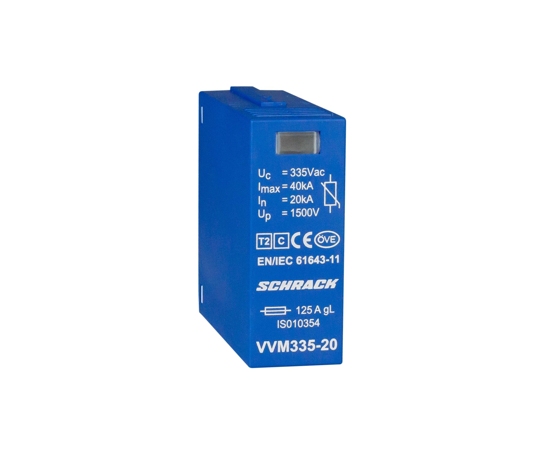 1 Stk Vartec Varistormodul TII, VVM - 320V/20kA IS010354--