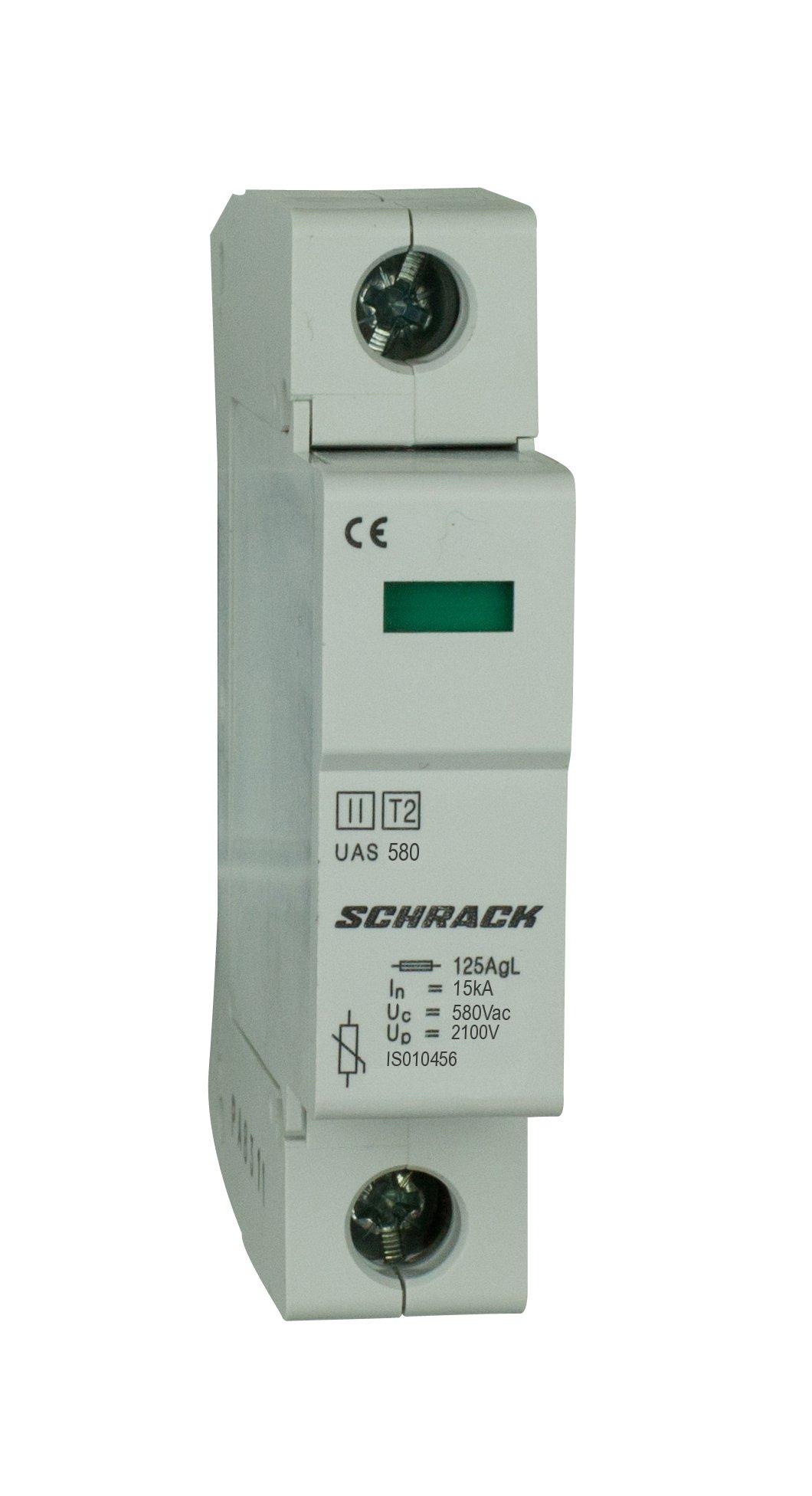 1 Stk T2/C - Ableiter komplett, 1p, 20kA/580V - Serie UAS IS010456--