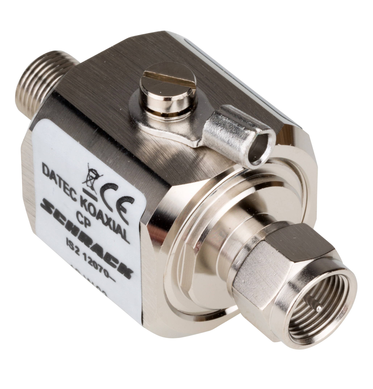 1 Stk Datenableiter für Koaxialkabel mit F Stecker IS212070--