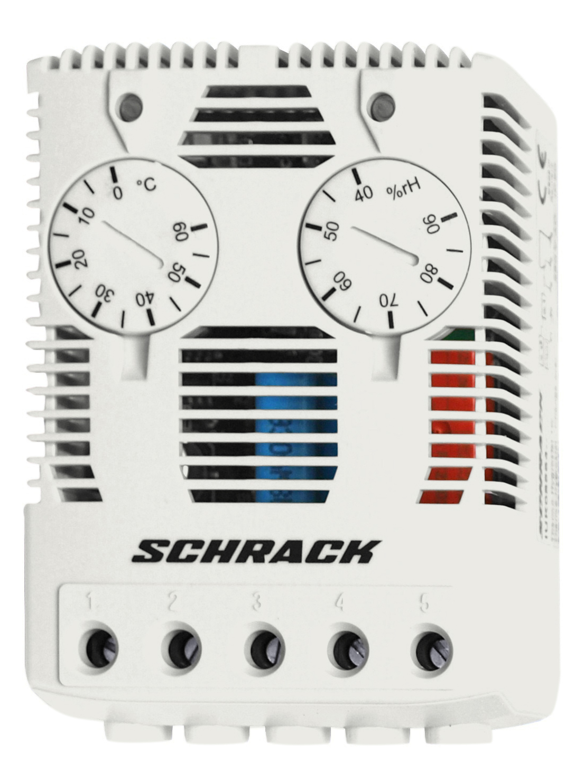 1 Stk Thermo-Hygrostat 40-90% rF, 1 Wechsler IUK08564--