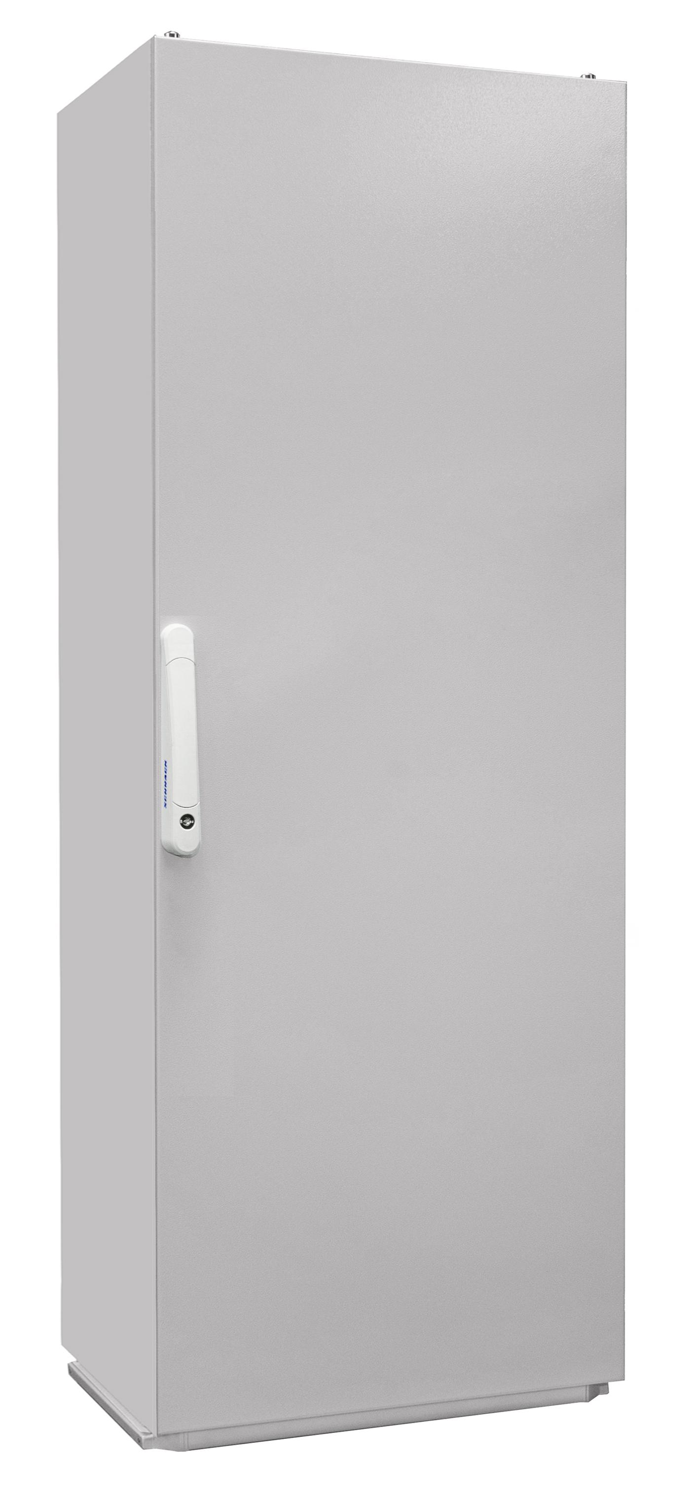 1 Stk Kompaktschrank 1-Tür IP55 H=1600 B=600 T=400mm Stahlblech KC166040--