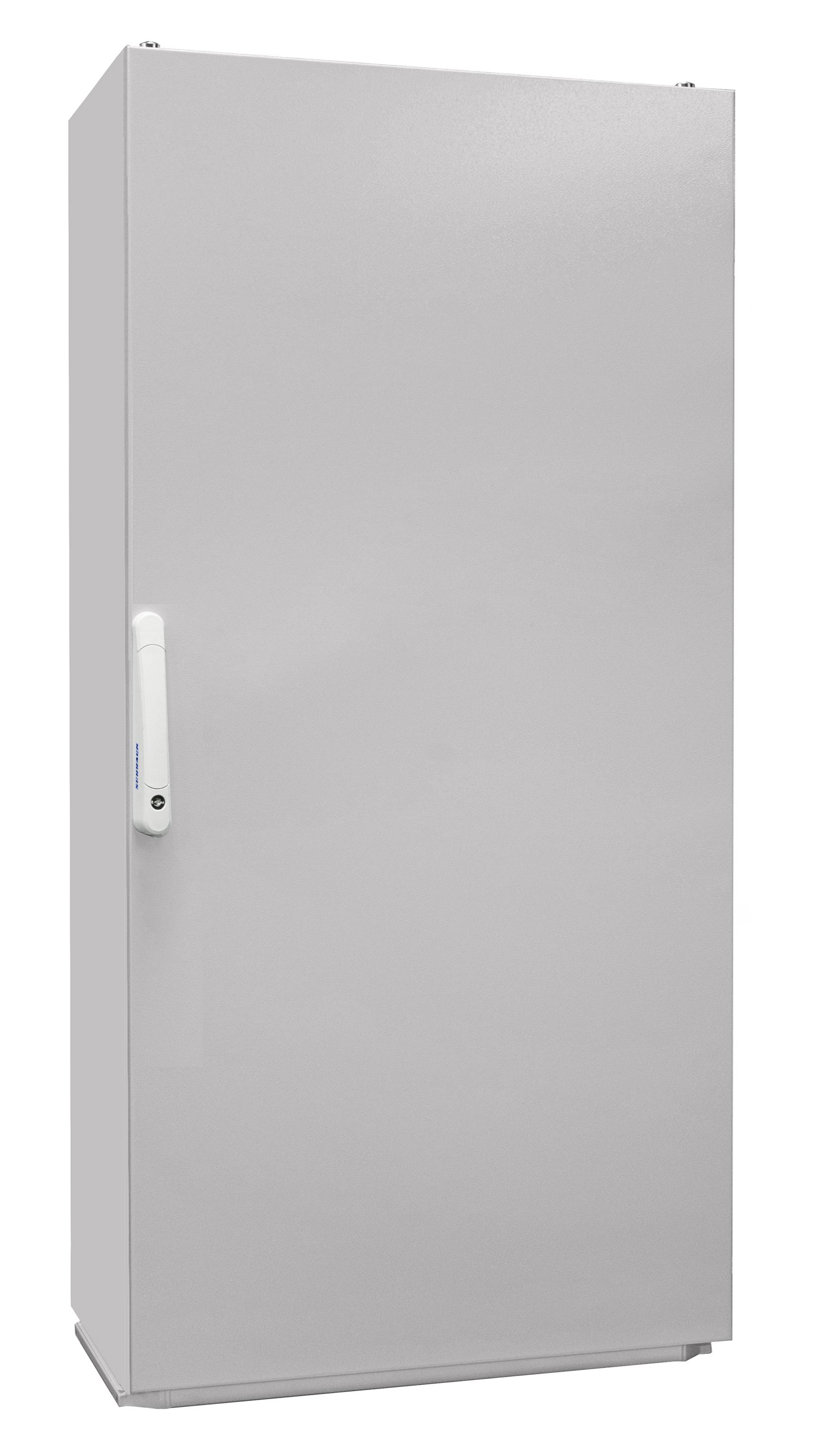 1 Stk Kompaktschrank 1-Tür IP55 H=1600 B=800 T=300mm Stahlblech KC168030--