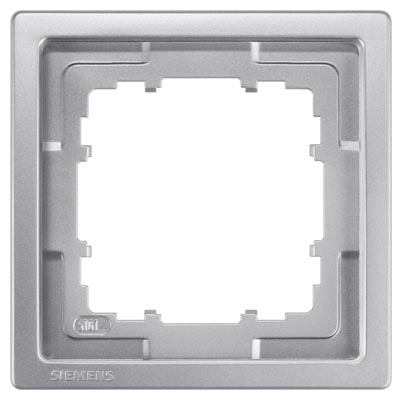 1 Stk Rahmen, Style, platinmetallic, 5-fach KX13251---