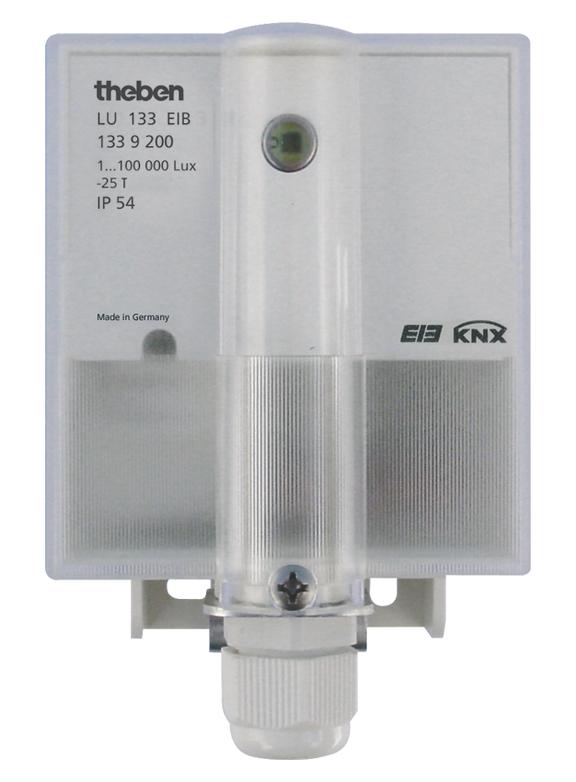1 Stk KNX Helligkeitswertsender, Aufputz KX1339200-