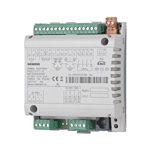 1 Stk Raum-Controller Fan-Coil-Applikationen (mit Außenluftklappe) KX211FC11-