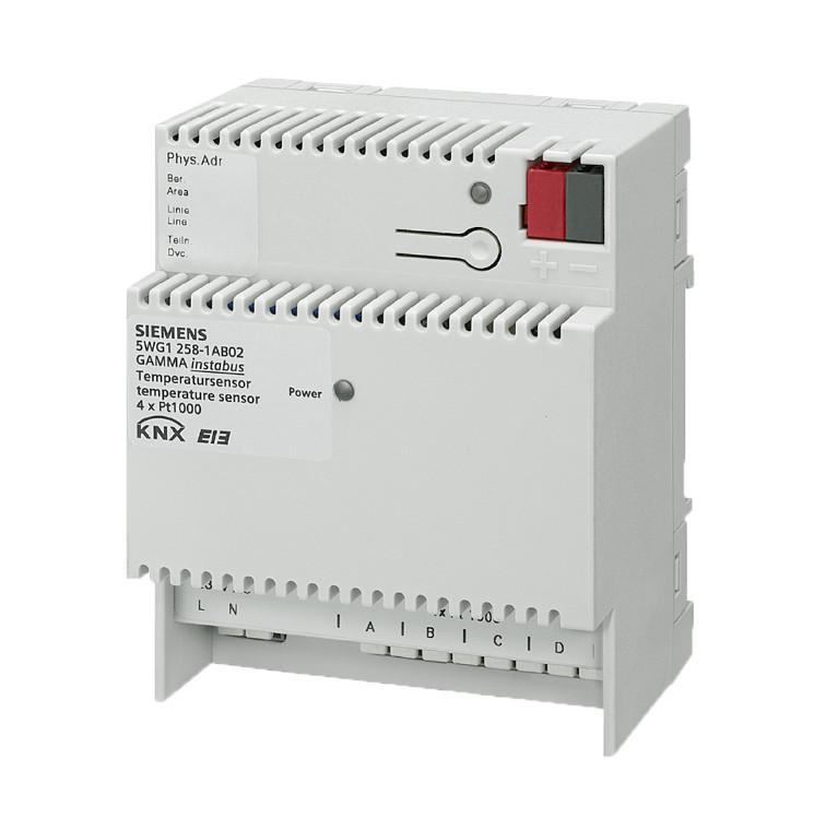 1 Stk Temperatursensor, für vier Pt1000-Fühler KX2581AB02