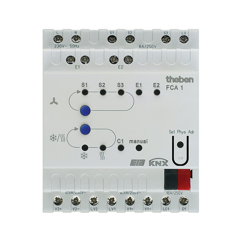 1 Stk Fan-Coil Aktor, 2-Rohr- und 4-Rohr-Systeme KX4920200-