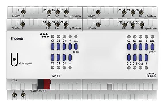 1 Stk 12-fach Heizungsaktor FIX2 HM 12 T KNX KX4940245-
