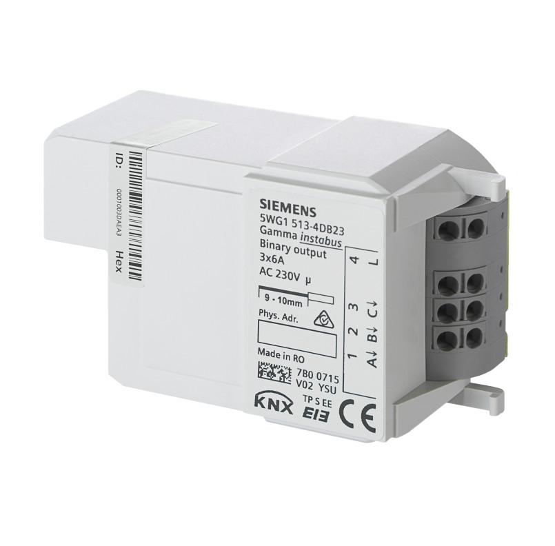 1 Stk Schaltaktor für Modulbox (Relais), 3 x 6A KX5134DB23