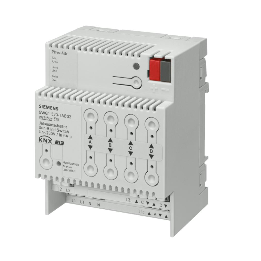 1 Stk Jalousieaktor, 4 x AC 230 V, 6 A KX5231AB02