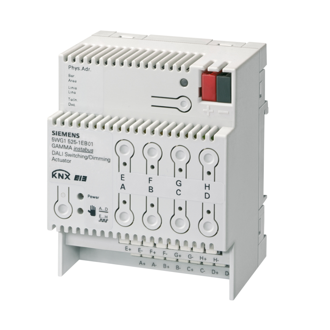 1 Stk Schalt-/Dimmaktor, 8 x DALI, 8 EVG pro Ausgang KX5251EB01