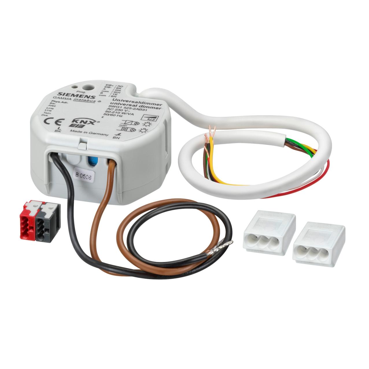 1 Stk Universaldimmer, 210 VA, AC 230 V, (R,L,C-Last) KX5252AB31