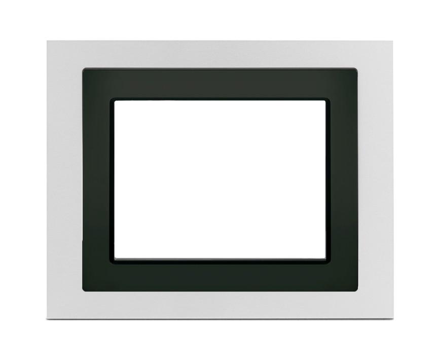 1 Stk Designrahmen für Touch-Panel, Aluminium KX5888AB12