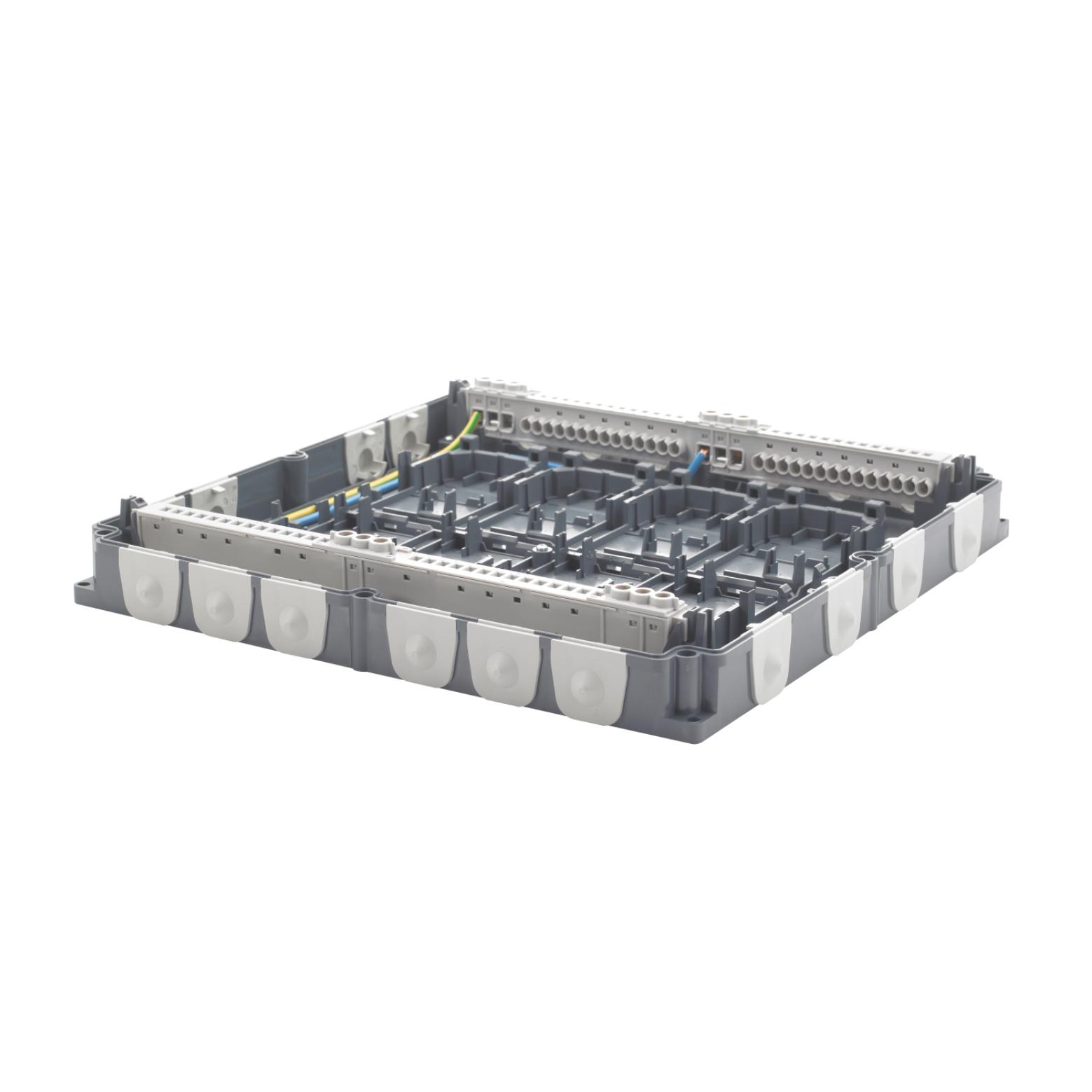 1 Stk Raumautomationsbox, 8 Steckplätze für Module Typ RS oder RL KX6413AB01