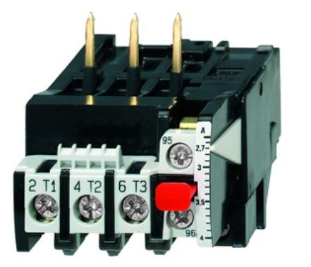 1 Stk Motorschutzrelais 0,27-0,4A U12/16E...K3 Hand-Reset LA300102K3