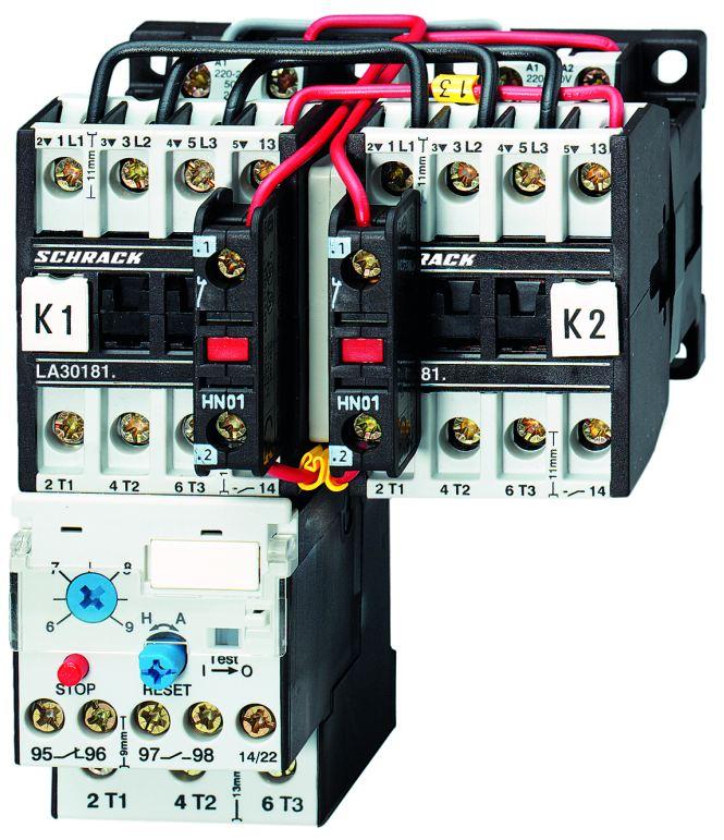 1 Stk Wendeschützkombination 18A, 7,5kW, 230VAC LA3W18W3--