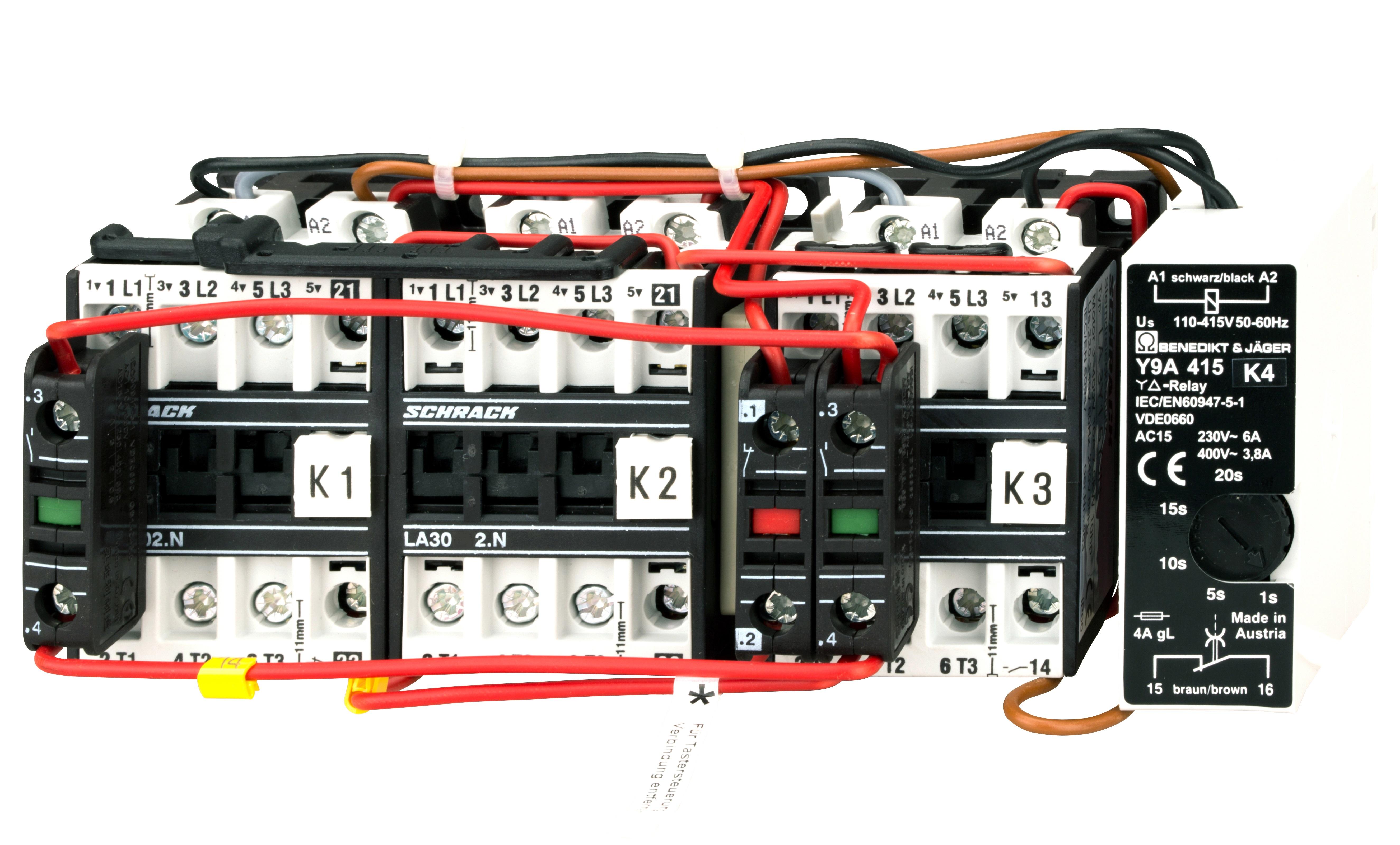 1 Stk Stern-Dreieck-Schützkombination 85A, 45kW, 230VAC LA3Y80Y3--