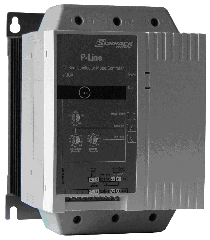 1 Stk Halbleiter-Motorkontroller 200-440V/100A ohne Motorschutz LAKA4100--