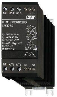 1 Stk Halbleiter-Motorkontroller 400-480VAC, 35A ohne Bypass (BP) LATB4355--