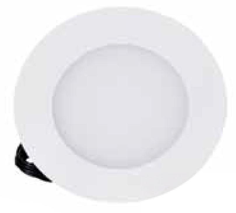 1 Stk LED Panel Round 115 6W, 4000K, 420lm, dimmbar, weiß LI011001NW