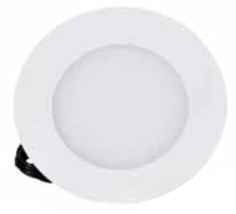 1 Stk LED Panel Round 115 6W, 3000K, 360lm, dimmbar, weiß LI011001WW