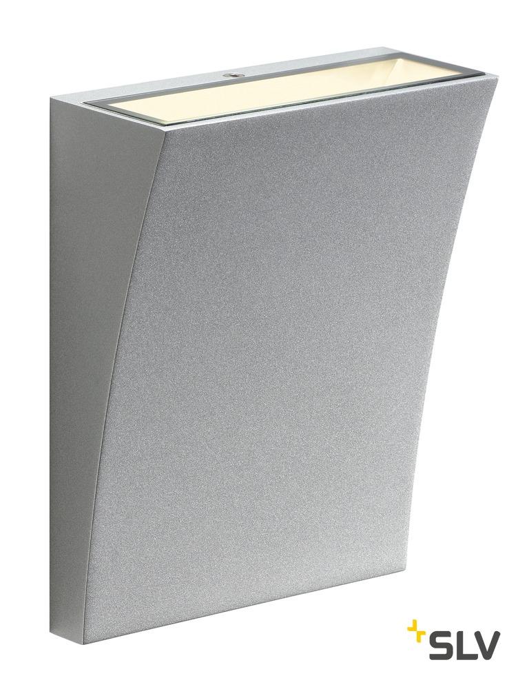 1 Stk DELWA WIDE LED, 3000K, 100°, silerbgrau, IP44 LI1000341-