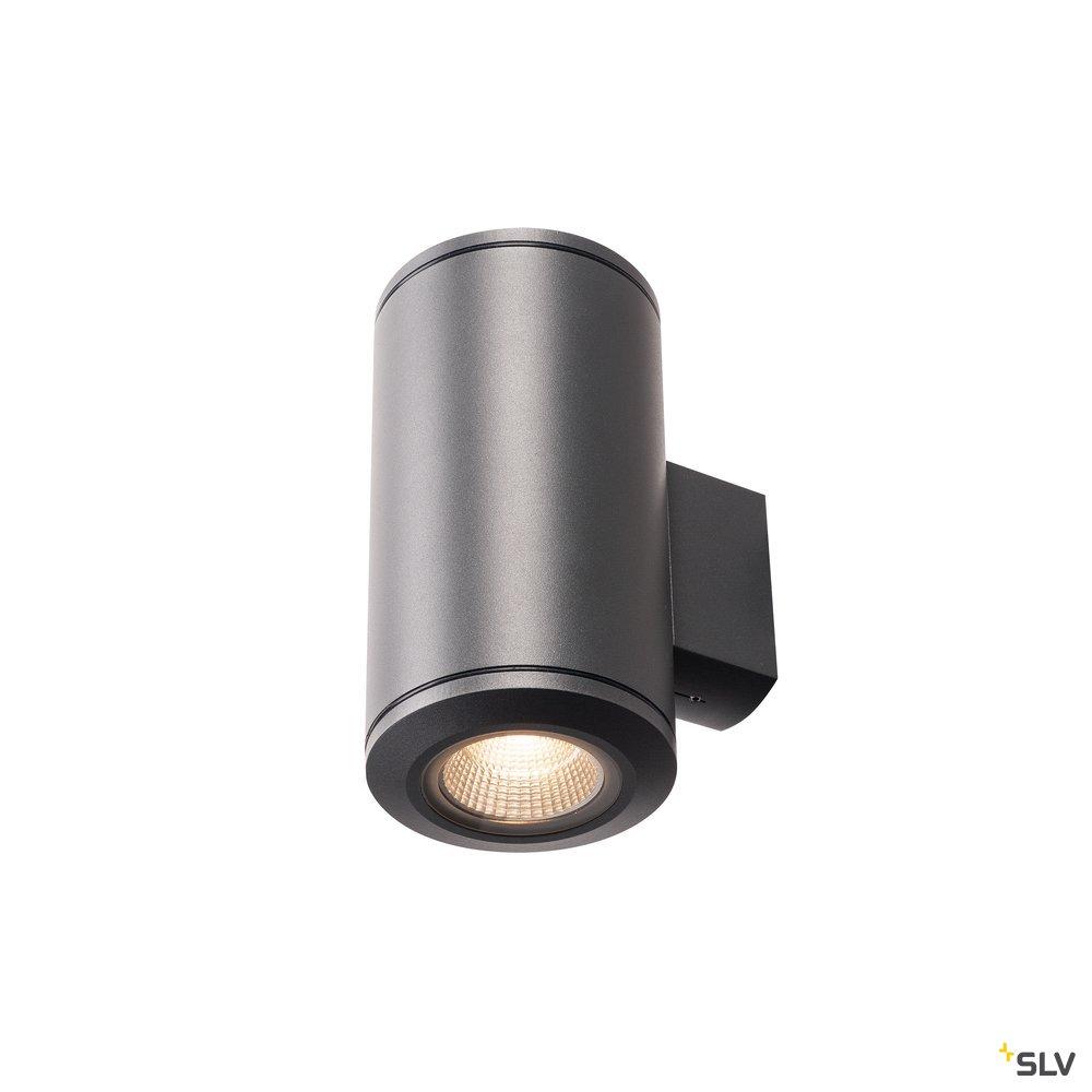 1 Stk POLE PARC LED Wandleuchte,UP/DOWN,anthrazite,3000K,IP44 LI1000446-