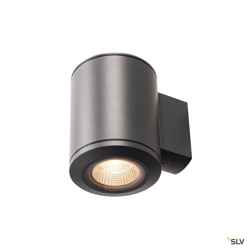 1 Stk POLE PARC LED Outdoor Wandleuchte, anthrazite, 3000K, IP44  LI1000448-