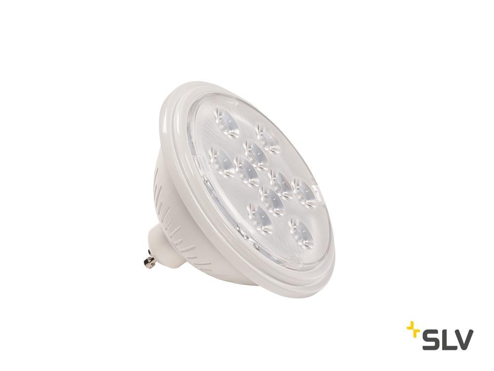 1 Stk LED QPAR111 GU10 Leuchtmittel, 13°, weiß, 2700K, 730lm  LI1000941-