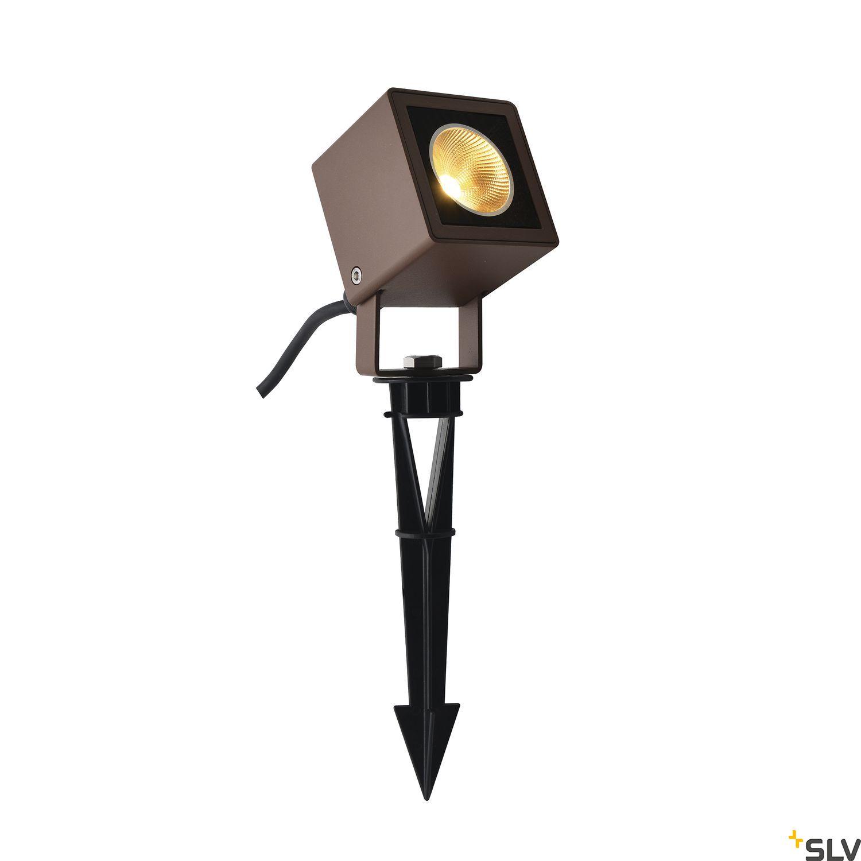 1 Stk NAUTILUS 10 Spike, LED Leuchte, rost, IP65, 3000K, 45° LI1001937-