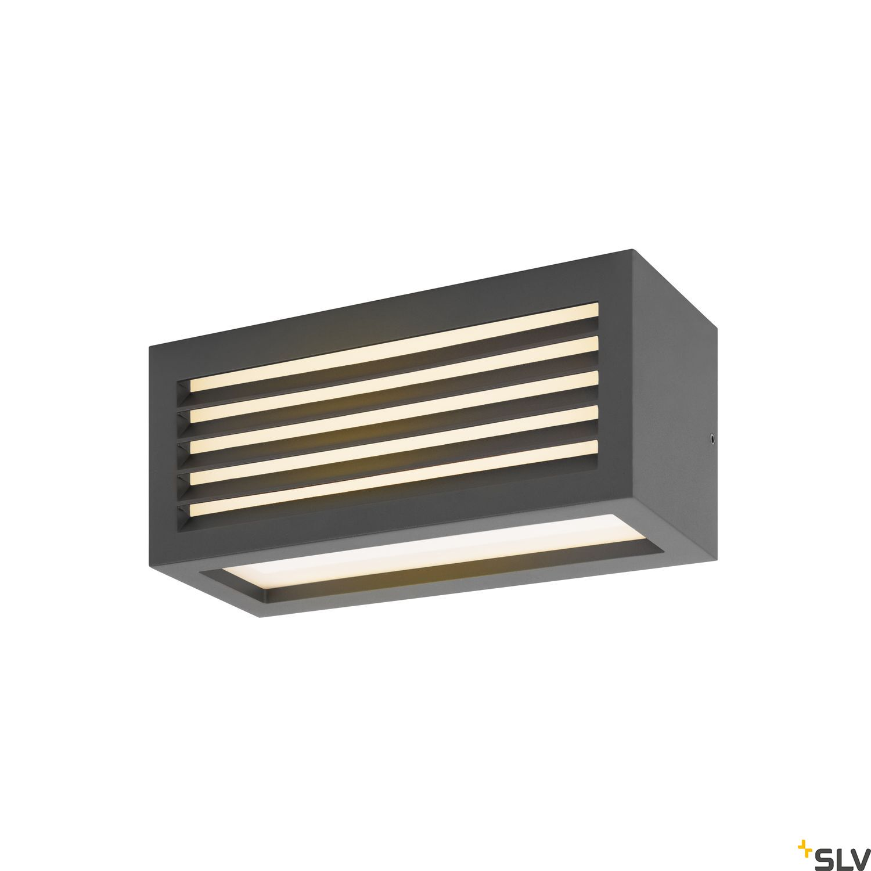 1 Stk BOX_L, LED Outdoor Leuchte, anthrazit, IP44, 3000K, 19W LI1002035-