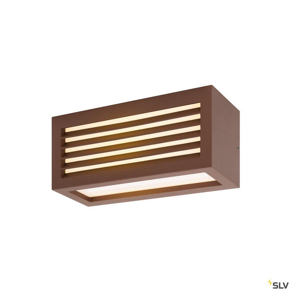 1 Stk BOX_L, LED Outdoor Leuchte, rost farbend, IP44, 3000K, 19W LI1002036-