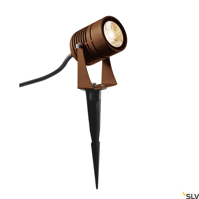 1 Stk LED SPIKE, rost farbend, IP55, 3000K, 40° LI1002203-
