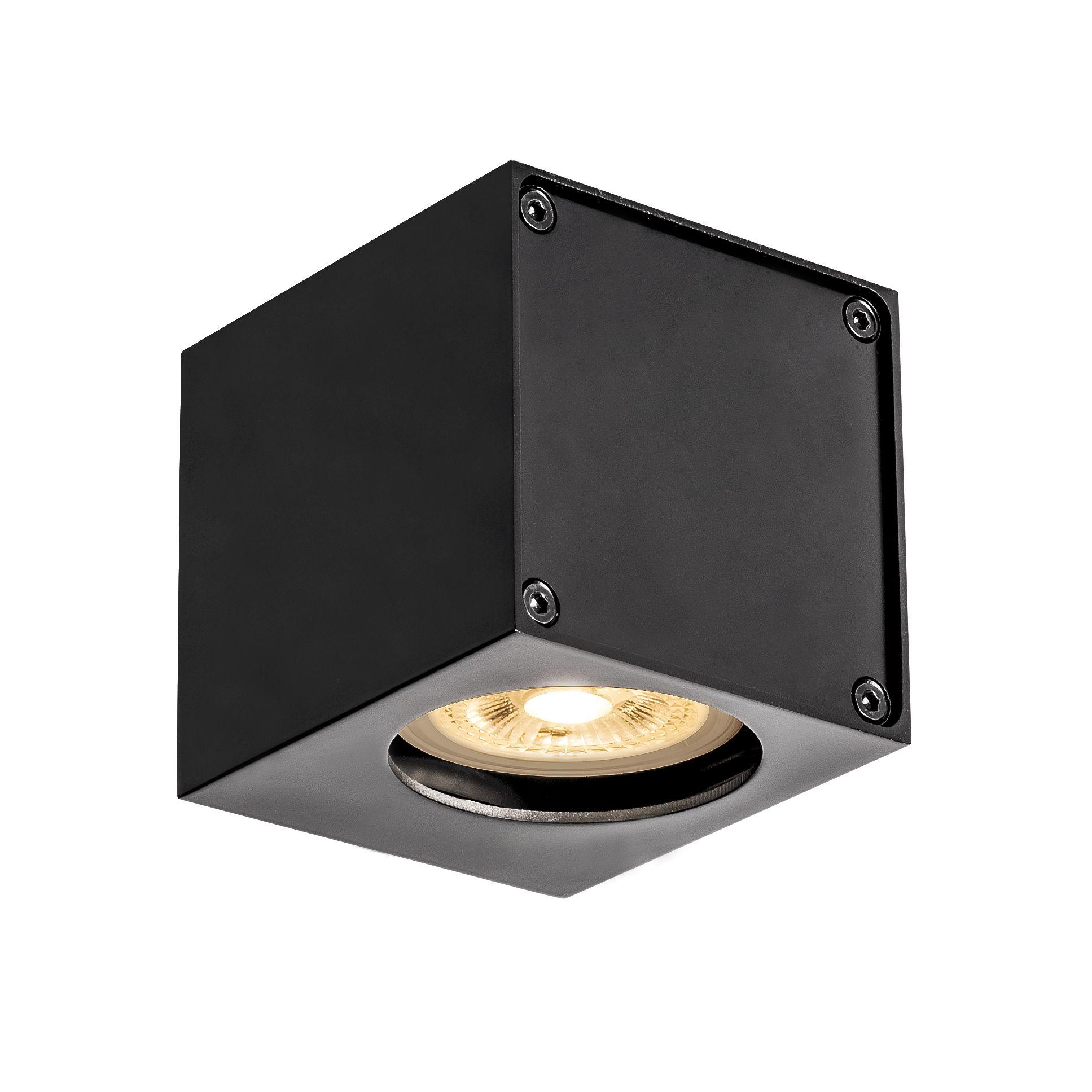 1 Stk ALTRA DICE WL-1, Indoor Wandaufbauleuchte, QPAR51, schwarz LI1002212-