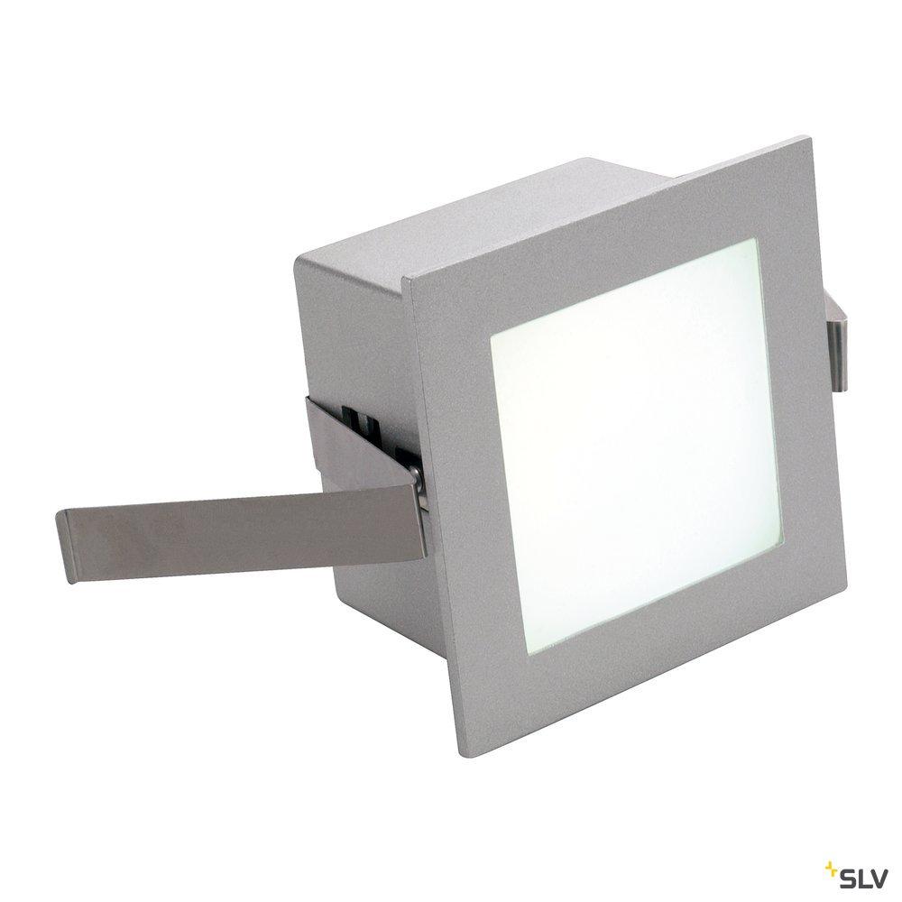 1 Stk FRAME BASIC LED, 1W, Neutralweiß, eckig, silbergrau LI111260--