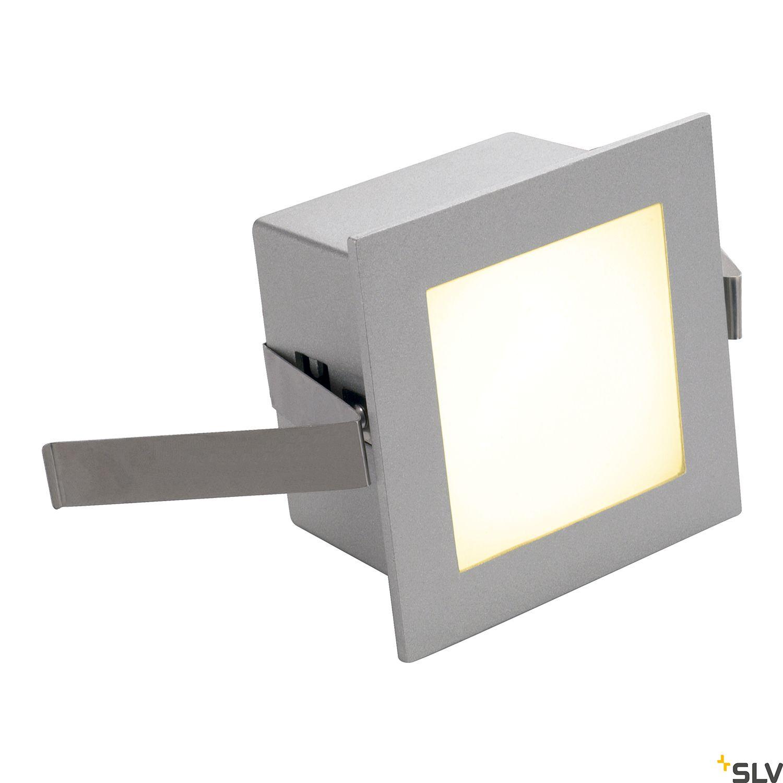 1 Stk FRAME BASIC LED, 1W, 350mA, warmweiß, eckig, silbergrau LI111262--
