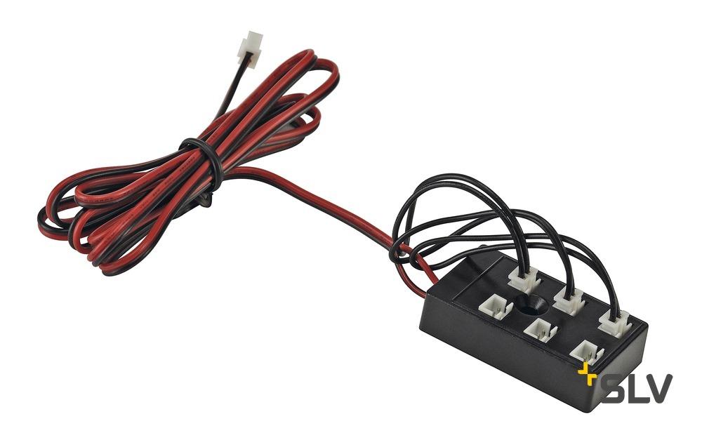 1 Stk Steckerset für LED Artikel 6-fach mit drei Brücken LI111860--