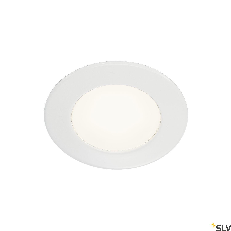 1 Stk DL 126 LED Downlight, 3W, 3000K, 12V, rund, acryl, weiß LI112221--