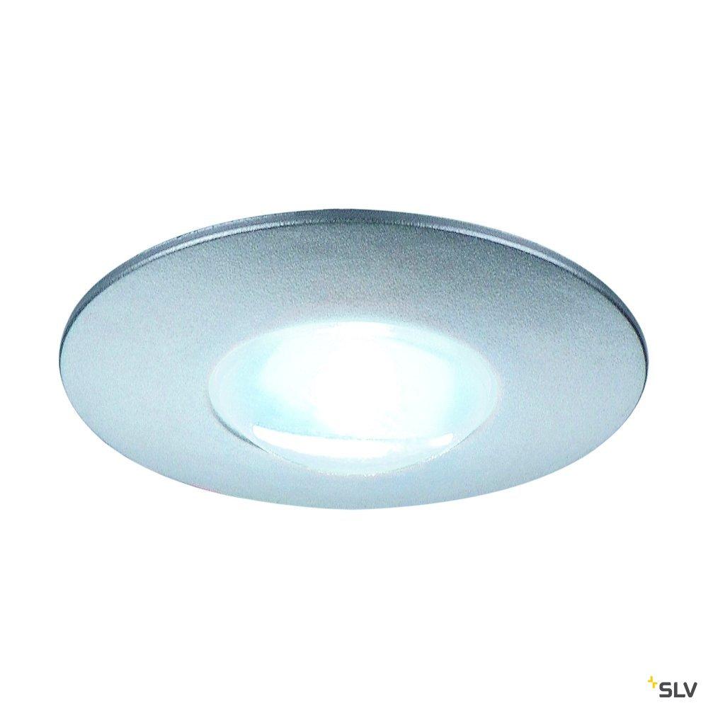 1 Stk DEKLED LED, 1W, 4000K, 100lm, rund, silber LI112240--