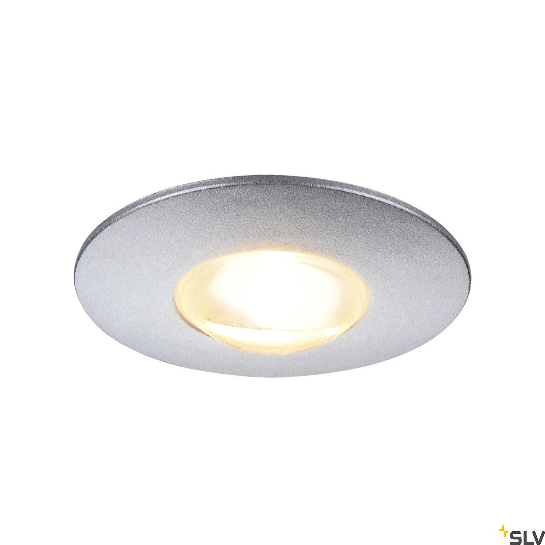 1 Stk DEKLED LED, 1W, 3000K, 90lm, rund, silber LI112242--