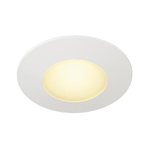 1 Stk AITES LED ROUND für Installationsdosen, 1W, 3000K, weiß LI112341--