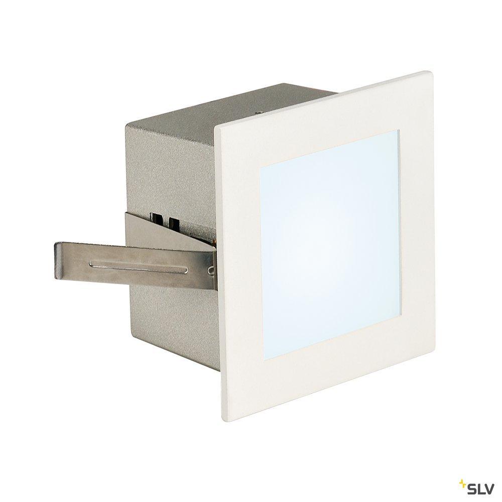 1 Stk FRAME BASIC LED, 1W, 4000K, 110lm, eckig, alu/glas, weiß LI113260--