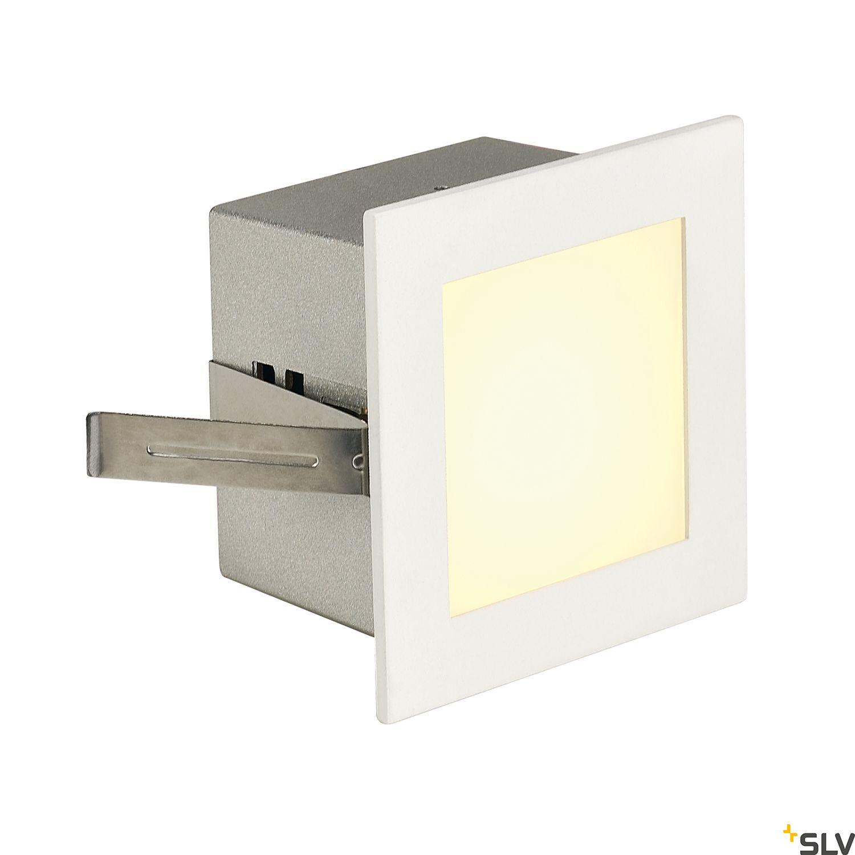 1 Stk FRAME BASIC LED, 1W, 3000K, 90lm, eckig, alu/glas, weiß LI113262--