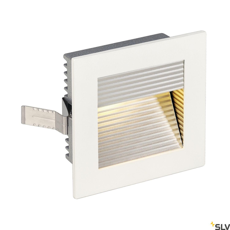 1 Stk FRAME CURVE LED, 1W, 3000K, 90lm, eckig, alu, weiß LI113292--